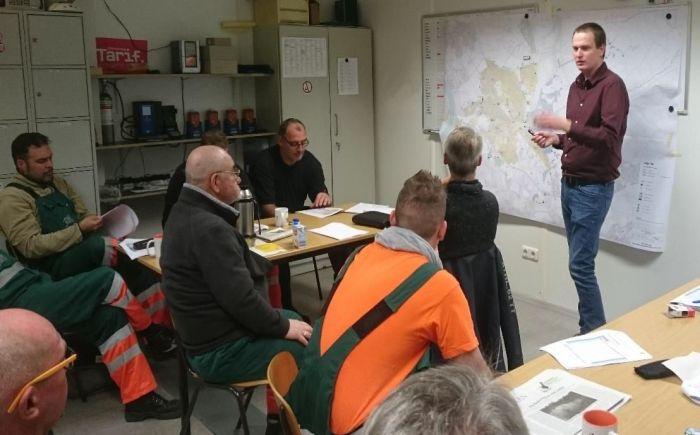 Workshops mit Betriebspersonal